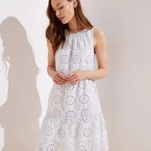 NWT LOFT dress. Size Medium. Aquamarine blue.